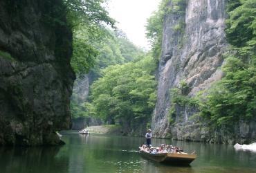 げいび渓舟下り
